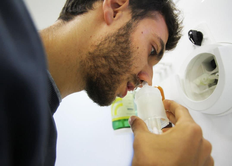 Cure termali: docce nasali micronizzate