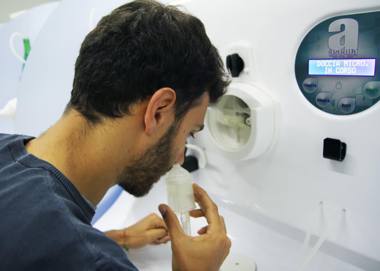 Cure termali: doccia nasale