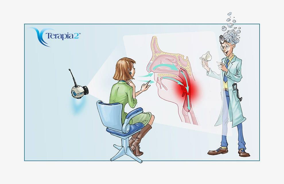 Cura della faringite